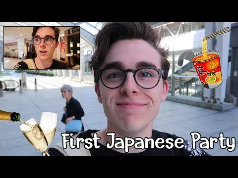 My First Japanese Party? -Vlog 4- (Japan 2018)