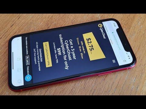 CyberGhost VPN App Iphone Review - Fliptroniks.com