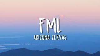 Video Arizona Zervas - FML (Lyrics) download in MP3, 3GP, MP4, WEBM, AVI, FLV January 2017