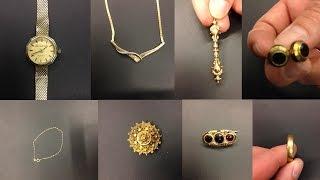 Politie zoekt naar eigenaren sieraden
