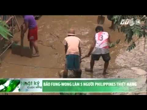 Bão Fung-Wong làm 5 người Philippines thiệt mạng