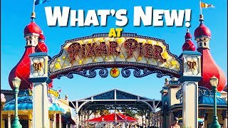 Video Top 5 New Additions to Pixar Pier!- Rides & Attractions MP3, 3GP, MP4, WEBM, AVI, FLV Oktober 2018