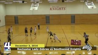 Rochester Girls Basketball vs. Southwood