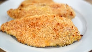 RECIPE: http://www.sweetysalado.com/2015/01/oven-fried-chicken.html A fantastic recipe to make a crunchy and delicious fried...