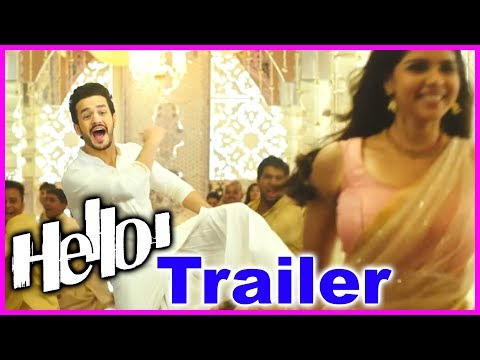Akhil's Hello Teaser| Kalyani Priyadarshan | Vikram Kumar | New Movie Trailer 2017