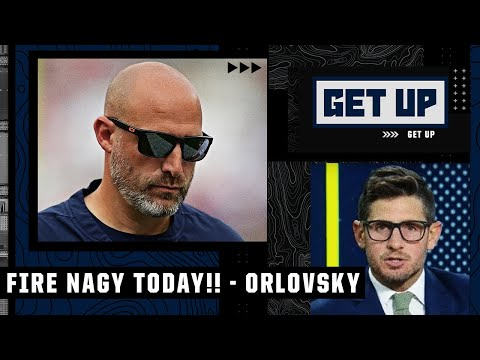Dan Orlovsky calls for Matt Nagy to be FIRED TODAY 😳👀 | Get Up