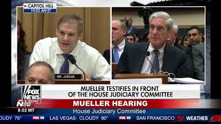 JIM JORDAN DEMANDS Answers From Robert Mueller