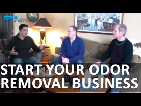 START YOUR ODOR REMOVAL BUSINESS: VERY POWERFUL VIDEO OF THE SUCCESSFUL CANADIAN COMPANY!