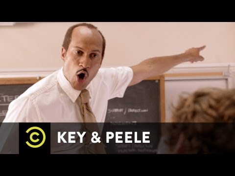 Key - A substitute teacher from the inner city refuses to be messed with while taking attendance. NEW Key & Peele airs Wednesdays 10:30/9:30c on Comedy Central.