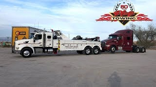 Video Unlocking an Abandoned Semi & Towing It Away For CHP MP3, 3GP, MP4, WEBM, AVI, FLV Juli 2019