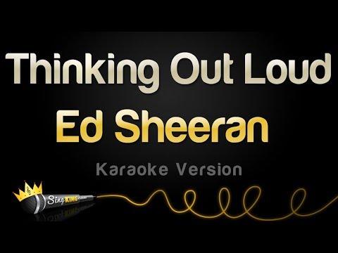 Ed Sheeran - Thinking Out Loud (Karaoke Version)