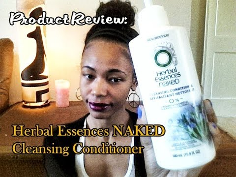 Product Review: Herbal Essences NAKED Cleansing Conditioner