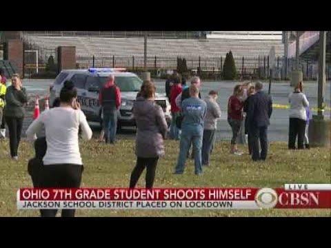 Ohio seventh-grade student shoots himself
