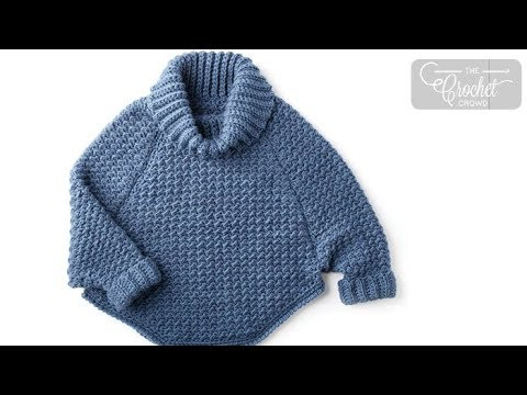 How to Crochet A Women's Pullover - XS - 4 XL