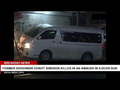 Former Governor Chavit Sinson killed in an ambush in Ilocos Sur