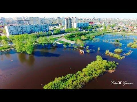 Наводнение в Тюмени (видео)