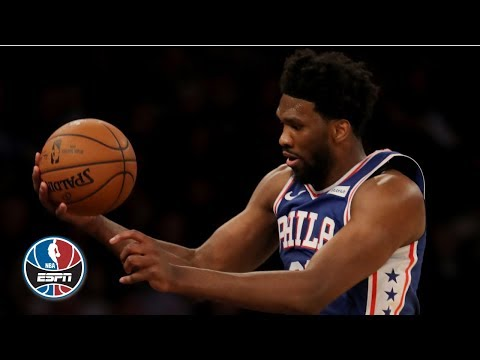 Video: Joel Embiid posts double-double, leaps into the MSG crowd in 76ers' win vs. Knicks | NBA Highlights