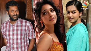 Catherine Tresa and Tamanna to pair with Prabhu deva Kollywood News 30/01/2017 Tamil Cinema Online