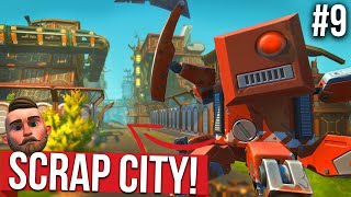 EXPLORING THE LOST SCRAP CITY!! - SCRAP MECHANICS SURVIVAL #9