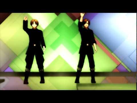 【APH X MMD】♦S C R E A M♦【 .:イタリア & ロマーノ : Italy & Romano】