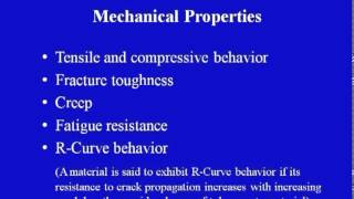 Mod-06 Lec-02 Ceramic Matrix Composites: Fundamentals And Properties