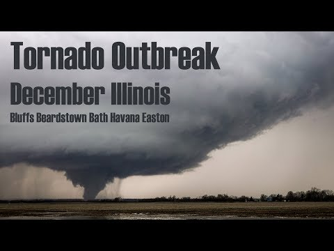 December Tornadoes Target Illinois (4k/UHD)