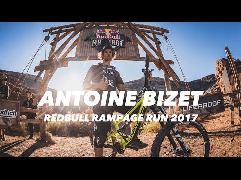 Antoine Bizetin huikea DH-lasku – 2017 Red Bull Rampage