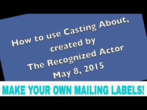 How Actors Use Casting About