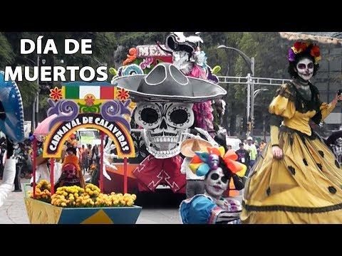 DESFILE COMPLETO DÍA DE MUERTOS PARADE CIUDAD DE MÉXICO SPECTRE SÁBADO 28 OCTUBRE 2017 2018 CDMX