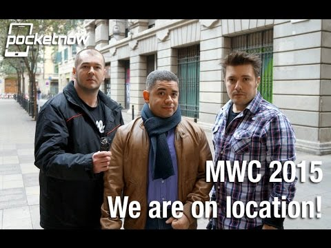 We are live from MWC 2015 (Video)