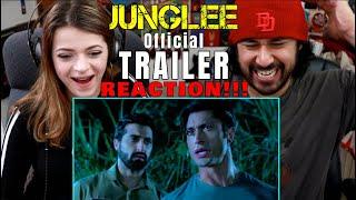 JUNGLEE | Vidyut Jammwal | TRAILER REACTION!!!