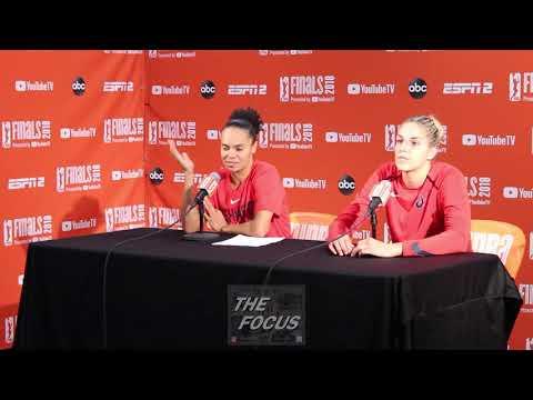 WNBA Finals Game 3 - Mystics Post Game #WNBA #TheFocusTV