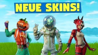 NEUE SKINS GELEAKT! | Fortnite Battle Royale