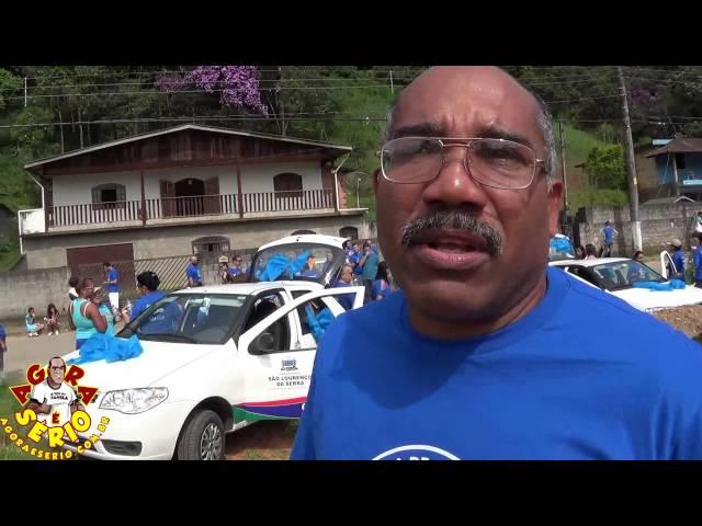 Dr Ramom fala sobre a Caminhada Novembro Azul 2015 de São Lourenço da Serra