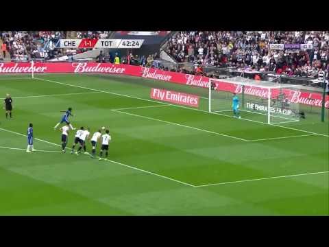 Willian (Penalty) vs Tottenham Hotspurs  (CFC 2-1)