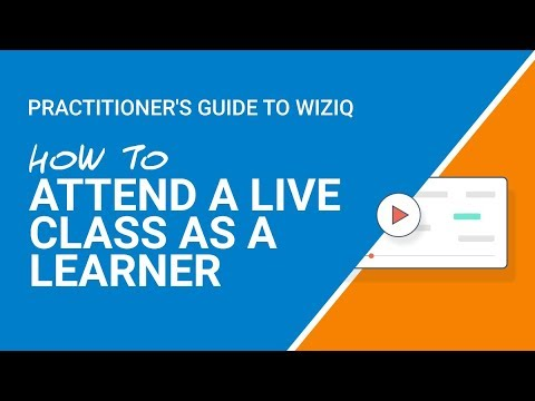Help Guide: How To Attend A Live Class As A Learner
