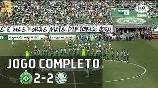 Jogo completo - Chapecoense 2 x 2 Palmeiras - Amistosos 2017 - 21/01/2017 Narração: Nivaldo Prieto, Comentários: PVC...