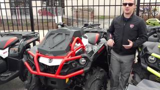 1. 2016 Can-am Outlander 650 Xmr