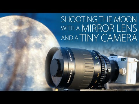 Shooting the Moon with a Mirror Lens and a Tiny Camera - Pentax Q + 500mm Lens