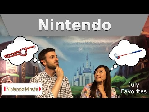 nintendo - Hi, Sorry this video is a little late but we still wanted to share our July favorites with you! What are some games that you guys are enjoying? Let us know i...