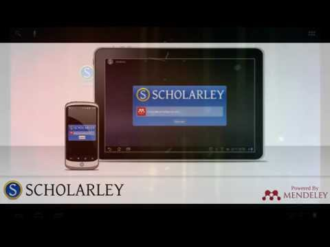 Video of Scholarley (Beta)