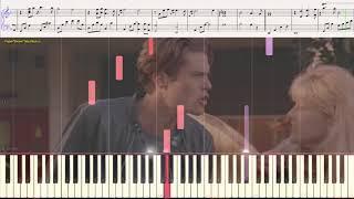 Heartbreaking - Angelo Badalamenti (Twin Peaks) (Ноты и Видеоурок для фортепиано) (piano cover)