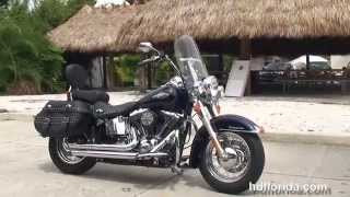 6. Used 2014 Harley Davidson FLSTC Heritage Softail Classic Motorcycles for sale