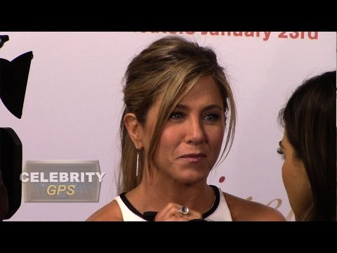 Jennifer Aniston opens up about her dyslexia