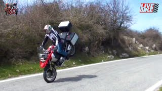 9. No test for old men - BMW R 1200 GS wheelies and stoppies!