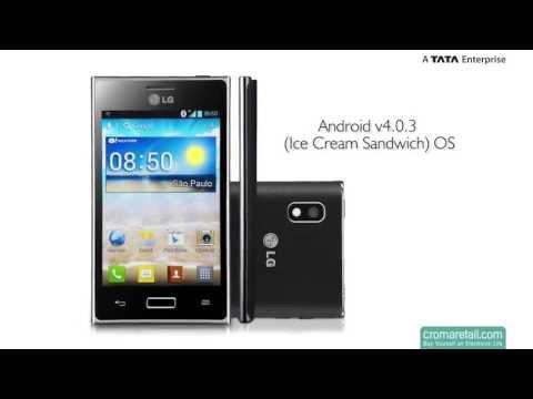LG Optimus L5 Dual E615 GSM Mobile Phone (Dual SIM)