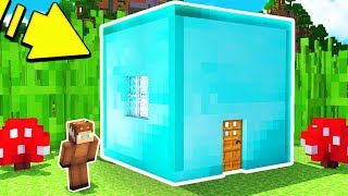 Video HOW TO LIVE INSIDE A DIAMOND BLOCK IN MINECRAFT! MP3, 3GP, MP4, WEBM, AVI, FLV Oktober 2017