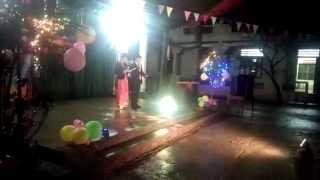 Dẫn chương trình đêm liên hoan mừng Đảng mừng xuân