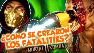 Mortal Kombat 11 - Así es como se están creando los fatalities I Concepto,  bocetos y desarrollo