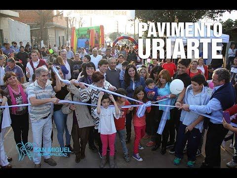 Nuevo pavimento en Barrio Trujui